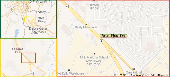 Aster Shay Bet Restaurant Akaki Kality Addis Ababa Ethiopia - Us map aster