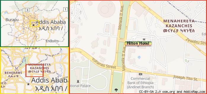 Hilton Hotel (Hotel) (Kirkos, Addis Ababa, Ethiopia) on