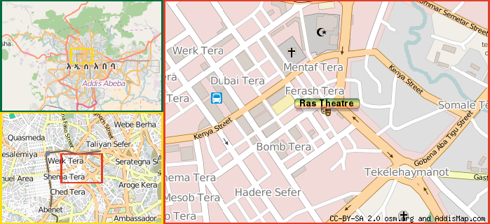 Map: How to find us.