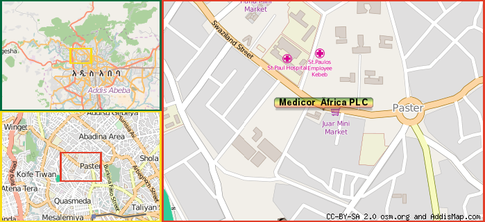 Medicor Africa PLC (Company) (Addis Ababa, Ethiopia)